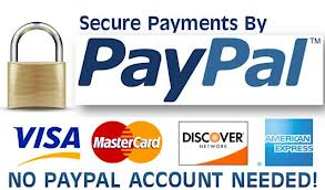 We process online transaction through Paypal