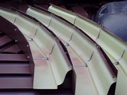 Steel Radius Gutters Rain Water Systems